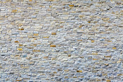 Witte Oude Bakstenen muur Stock Afbeeldingen