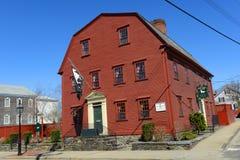 Witte Paardherberg, Nieuwpoort, Rhode Island, de V.S. Royalty-vrije Stock Foto's