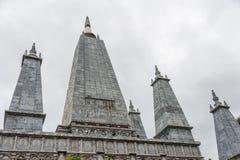Witte pagode Royalty-vrije Stock Afbeeldingen