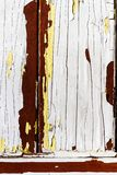 Witte peelinverf royalty-vrije stock afbeeldingen
