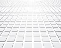 Witte perspectief 3d geweven achtergrond stock illustratie