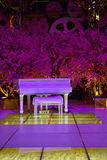 Witte piano Royalty-vrije Stock Foto's