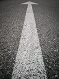Witte Pijl Stock Afbeelding