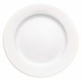 Witte plaat Royalty-vrije Stock Foto