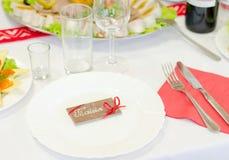 Witte plaat met chocoladekaart Stock Afbeelding