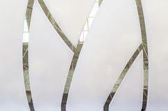 Witte plafondoppervlakte en textuur stock afbeelding