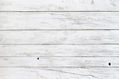 Witte planken royalty-vrije stock afbeelding