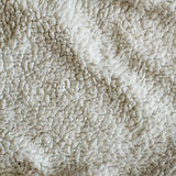 Witte Pluche Algemene Textuur Royalty-vrije Stock Foto's