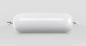 Witte polyethyleen verpakking voor voedsel stock illustratie
