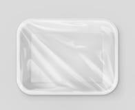 Witte polystyreen verpakking vector illustratie