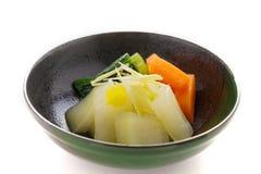 Witte pompoen-meloen Stock Foto
