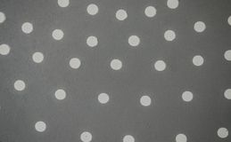 Witte punten op grijze bac Stock Foto