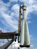 Witte raket Stock Fotografie