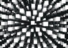 Witte rechthoek abstracte achtergrond Stock Afbeelding
