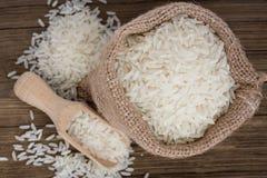 Witte rijst Stock Afbeeldingen