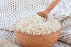 Witte rijst Stock Foto