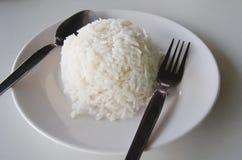 Witte rijst royalty-vrije stock afbeeldingen