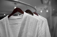 Witte robes Stock Afbeeldingen