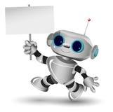 Witte robot Royalty-vrije Stock Foto's