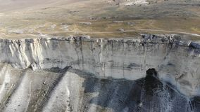Witte rots de Krim stock videobeelden