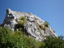 Witte rotsen Stock Fotografie