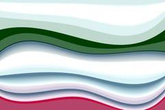 Witte roze vloeibare vormenachtergrond, kleuren, schaduwen abstracte grafiek Abstracte achtergrond en textuur stock fotografie