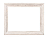 Witte Rustieke Omlijsting Stock Foto