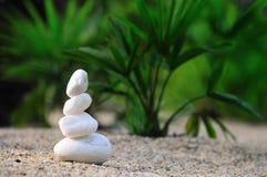 Witte sandman Stock Fotografie