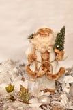 Witte Santa Claus Stock Afbeelding