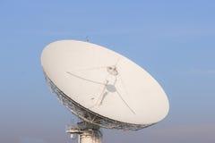 Witte Satellietcommunicatie in Thailand Royalty-vrije Stock Afbeelding