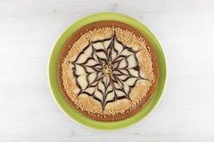 Witte Scherpe Chocolade stock foto