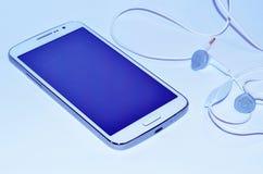Witte Smartphone Stock Afbeeldingen