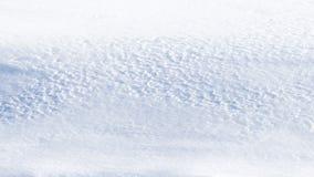 Witte sneeuw op het gebied Royalty-vrije Stock Afbeeldingen