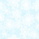 Witte sneeuwvlokken royalty-vrije illustratie