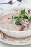 Witte Spaanse pepersaus Stock Afbeelding
