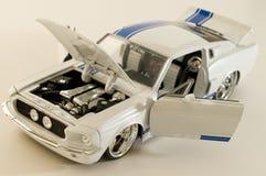 Witte sportwagen Royalty-vrije Stock Fotografie