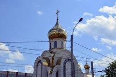 Witte steenkerk van Rusland Royalty-vrije Stock Afbeeldingen