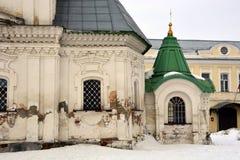 Witte steenkerk van Rusland Stock Afbeeldingen