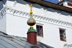 Witte steenkerk van Rusland Stock Foto