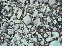 Witte Stenen Royalty-vrije Stock Afbeeldingen