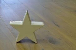 Witte ster royalty-vrije stock foto