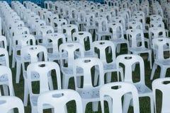 Witte stoel Royalty-vrije Stock Foto