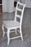Witte stoel Stock Afbeeldingen