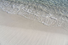 Witte stranden royalty-vrije stock fotografie