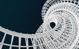 Witte structuur abstracte achtergrond Stock Fotografie