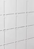 Witte tegels royalty-vrije stock afbeeldingen
