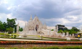 Witte tempel Stock Foto's