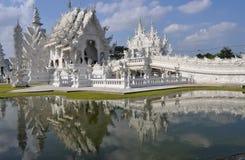 Witte tempel Royalty-vrije Stock Afbeeldingen