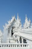 Witte Tempel Chiang Rai Thailand Royalty-vrije Stock Foto's