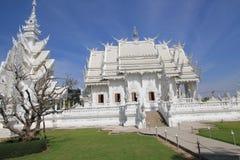 Witte Tempel, Wat Rong Khun in Chiang Rai, Thailand stock foto's
